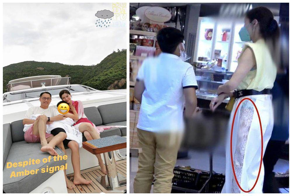 """""""Hoa hậu đẹp nhất Hồng Kông"""" tắm chung với con trai bị chê phản cảm, giờ lại có hành động khiến nhiều người lo lắng cho đứa trẻ - Ảnh 3."""