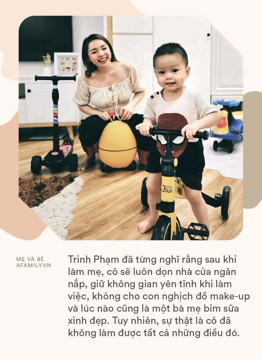 """Hot mom Trinh Phạm than thở 4 sự thật trần trụi sau khi có con, mẹ nào đọc xong cũng thấy """"chuẩn đét"""" - Ảnh 4."""