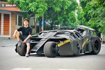 Tiết lộ đặc biệt của chàng trai chi nửa tỷ đồng tự làm 'siêu xe' Người Dơi