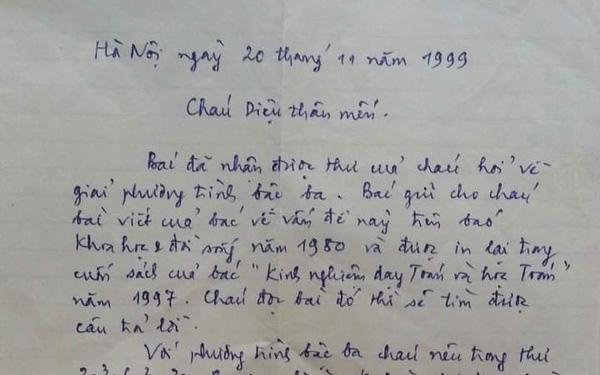 Bức thư trao đổi kiến thức Toán học 22 năm trước bất ngờ gây sốt, xem tên tác giả mà một trời ký ức ùa về
