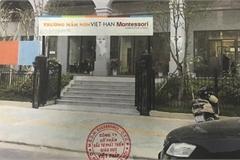Loanh quanh đổ lỗi, Hiệu trưởng Trường Mầm non Việt Hàn – Montessori có xứng đáng là một người nuôi dạy trẻ?