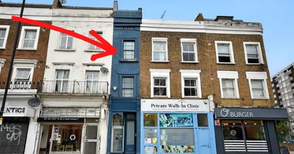 Ngôi nhà hẹp nhất London rao bán với giá hơn 30 tỷ đồng ẩn chứa 'kho báu' gì?