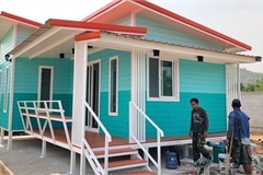 Những căn nhà có chi phí xây dựng chỉ từ 50 triệu đồng vẫn đẹp long lanh