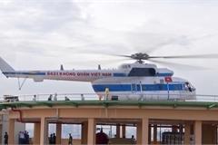 Bệnh viện đầu tiên đưa vào khai thác sân bay trực thăng cấp cứu
