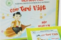 Cục quản lý Dược thu hồi toàn quốc thuốc Cốm Trẻ Việt