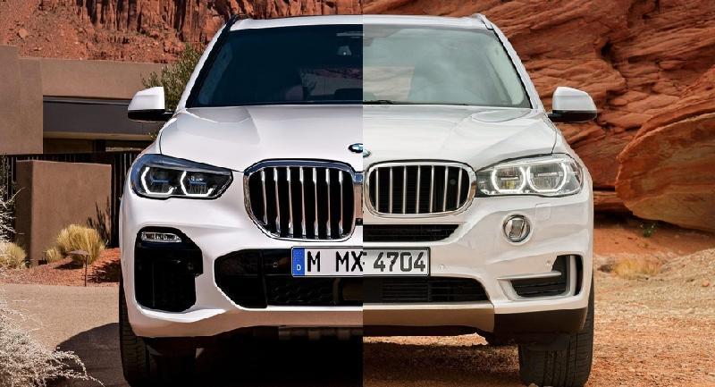 BMW X5 2019 có lưới tản nhiệt to gần gấp đôi thế hệ trước