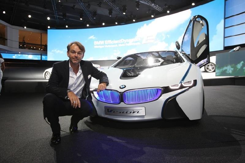Adrian van Hooydonk - giám đốc phụ trách mảng thiết kế của BMW