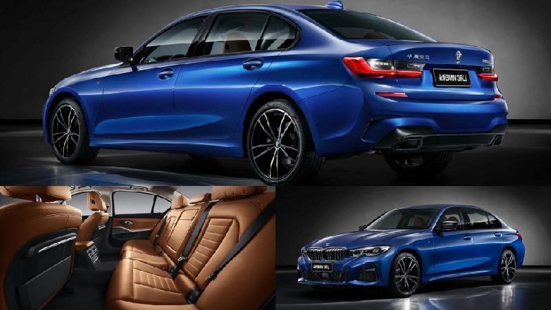 Mẫu xe hạng C - BMW 3 Series Li dành riêng cho thị trường Trung Quốc với trục cơ sở kéo dài có hàng ghế sau rộng tương đương 1 chiếc xe hạng D.