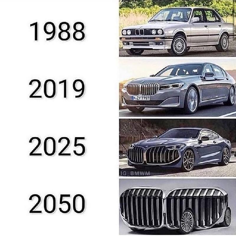 Thiết kế lưới tản nhiệt của BMW thành trào lưu chế ảnh hài hước trên các trang mạng xã hội