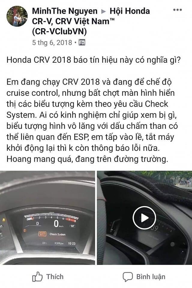 Phản hồi của người sở hữu xe CR-V tại Việt Nam