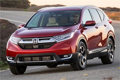 Gần 13 ngàn xe Honda CR-V thế hệ mới dính lỗi triệu hồi
