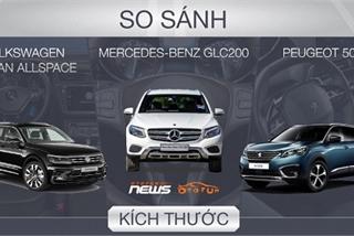 Trên dưới 1,5 tỷ: Chọn Mercedes Benz GLC200 hay Volkswagen Tiguan, Peugeot 5008?