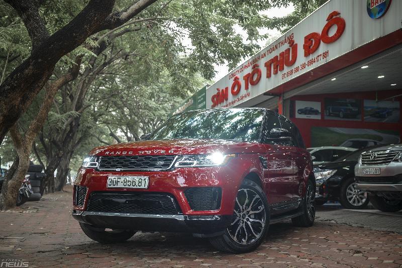 Chạy lướt 2000km, Range Rover Sport HSE bán lỗ gần 1 tỷ đồng