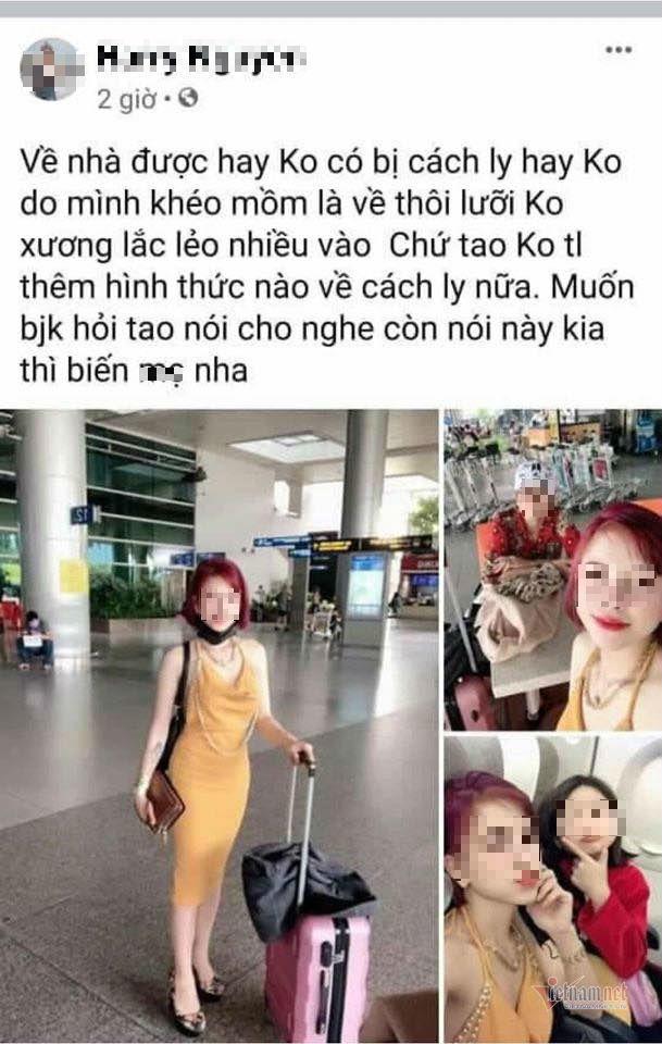 Cô gái về từ Hàn Quốc, cách ly tiếp 2 người thân, phun khử trùng nhà