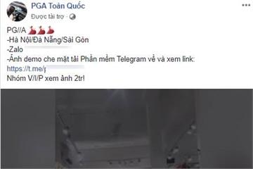 Facebook cho quảng cáo cả dịch vụ mại dâm ở Việt Nam