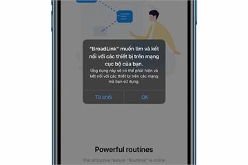 """Tại sao các ứng dụng iPhone lại yêu cầu """"kết nối đến các thiết bị trên mạng cục bộ""""?"""