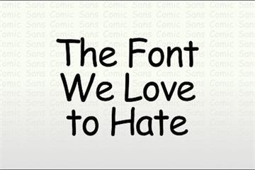Vì sao nhiều người ghét kiểu chữ Comic Sans đến vậy?
