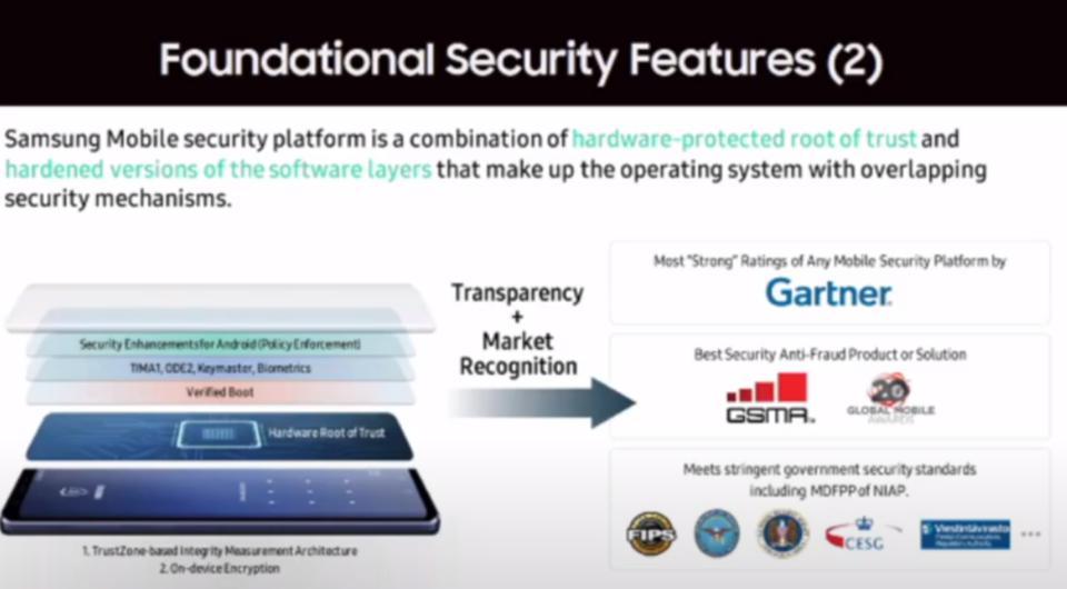 Samsung đã làm gì để cải thiện bảo mật trên điện thoại Galaxy?