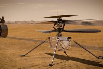 Trực thăng NASA sử dụng trên sao hỏa dùng chip smartphone ra mắt từ năm 2014