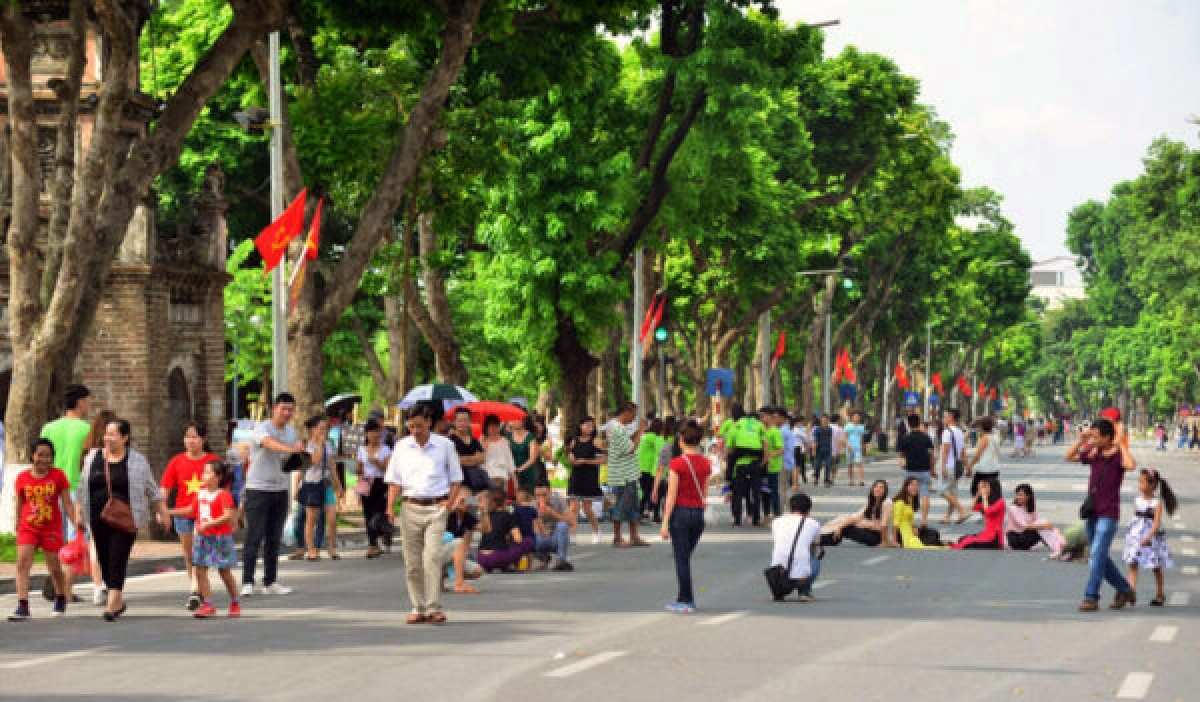 Pedestrian streets will open to the public on September 18