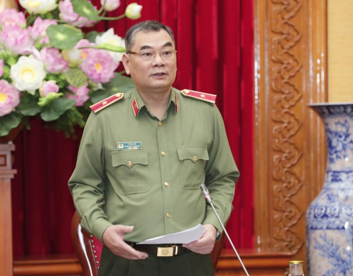 Thiếu tướng Tô Ân Xô - Chánh Văn phòng Bộ Công an.