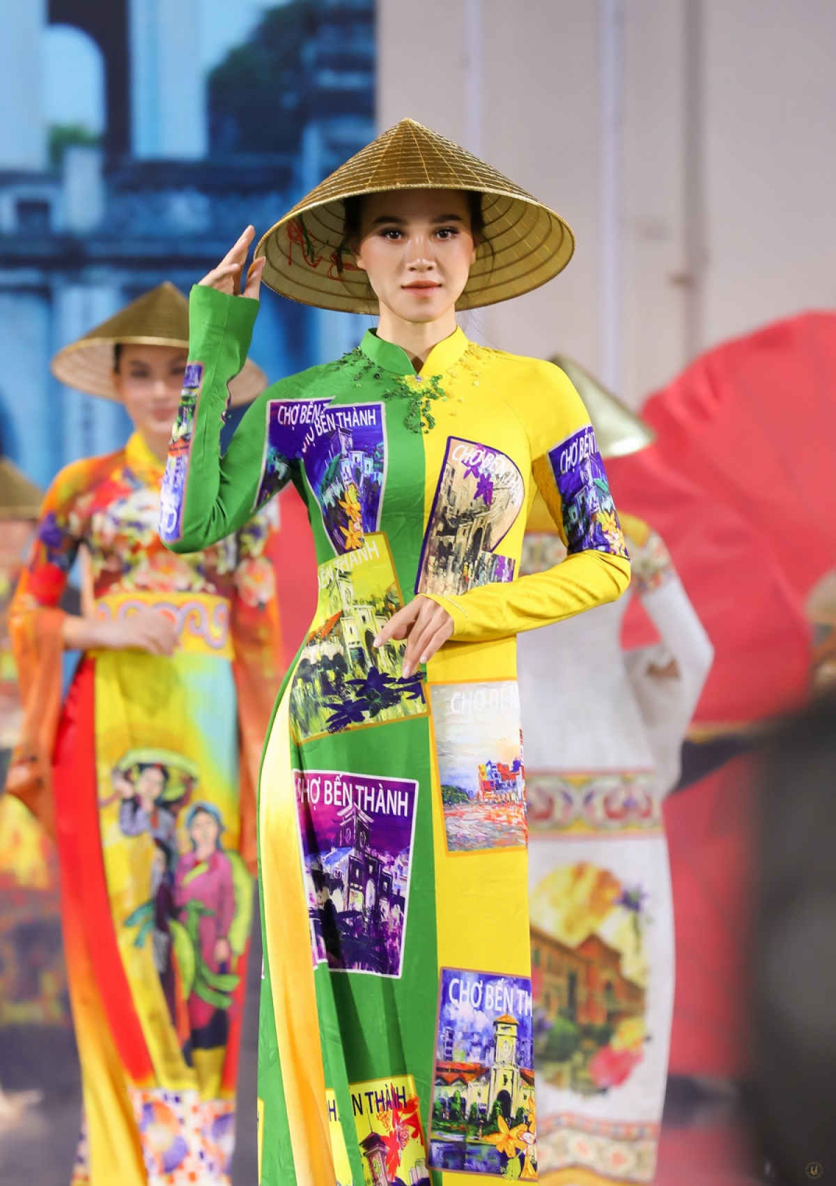 Ho Chi Minh City is hosting the Ao Dai Festival 2020, with many fashion shows taking place in an effort to present collections created by local designers, including a unique collection by Hoai Nam.