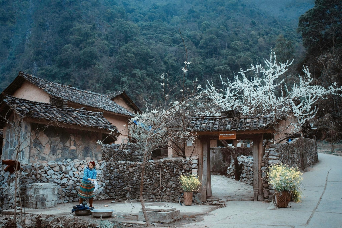 Pao's house is one of the top tourist attractions in Ha Giang province. (Photo: Dung Lai)