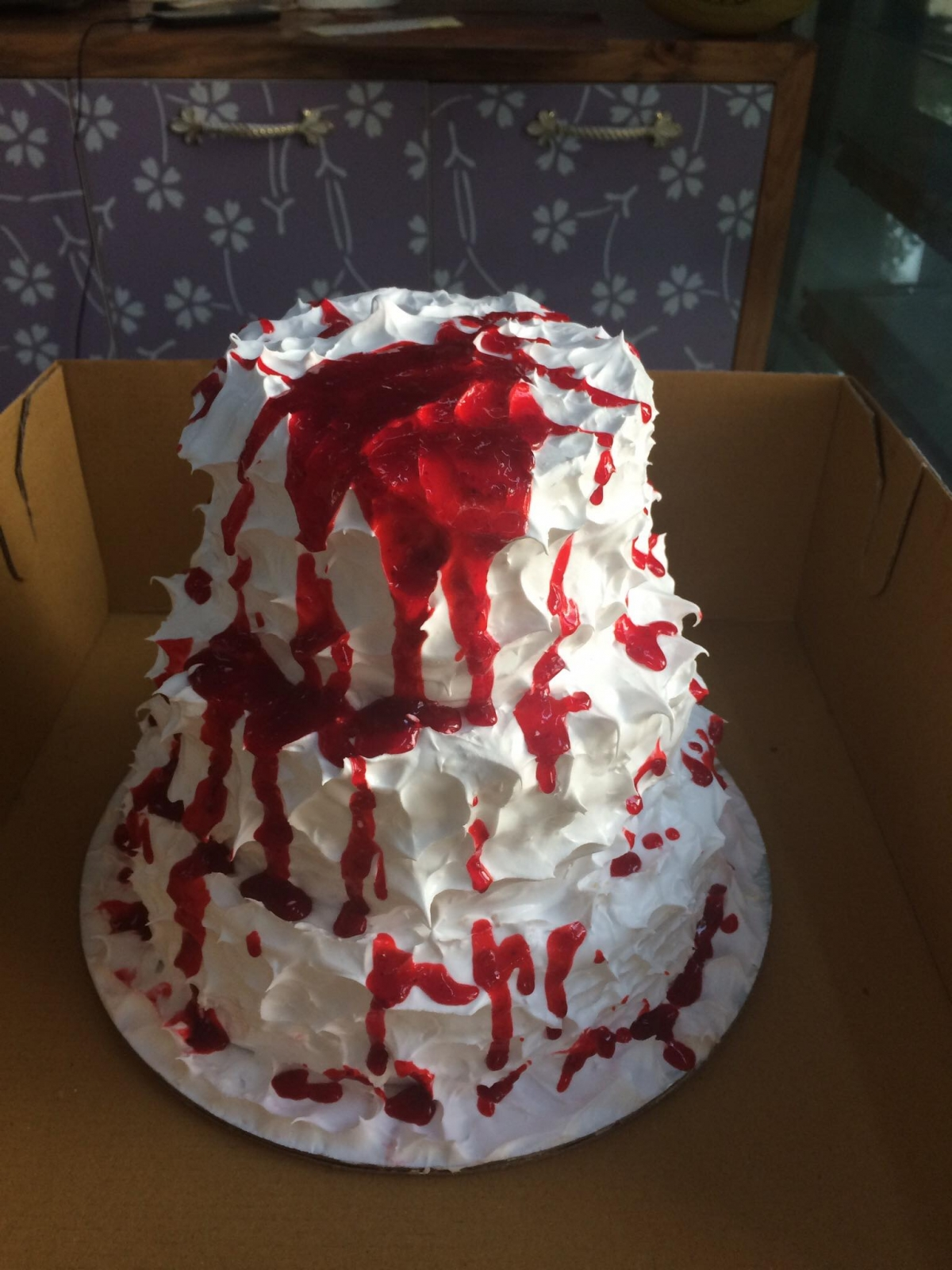 The price of the cake is dependent on the size and the meticulousness of the bakers involved in making them.