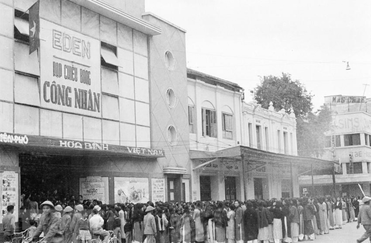 Following Hanoi Liberation Day, life returns to normal with local cinemas packed with film-lovers.