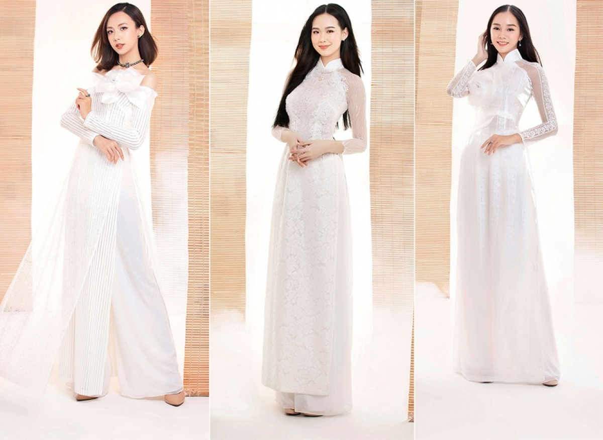 Wearing Ao Dai, a traditional outfit, is both a popular choice and important part of any Vietnamese beauty pageant. (Photo: TPO)