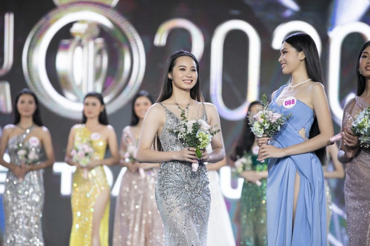 Nguyen Thi Minh Trang from Bac Ninh province is 1.68 metres tall and measures 82-65–93.
