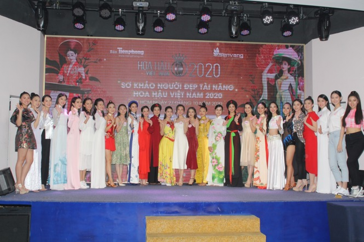 The grand final of the pageant is scheduled to take place in Ho Chi Minh City on November 21.