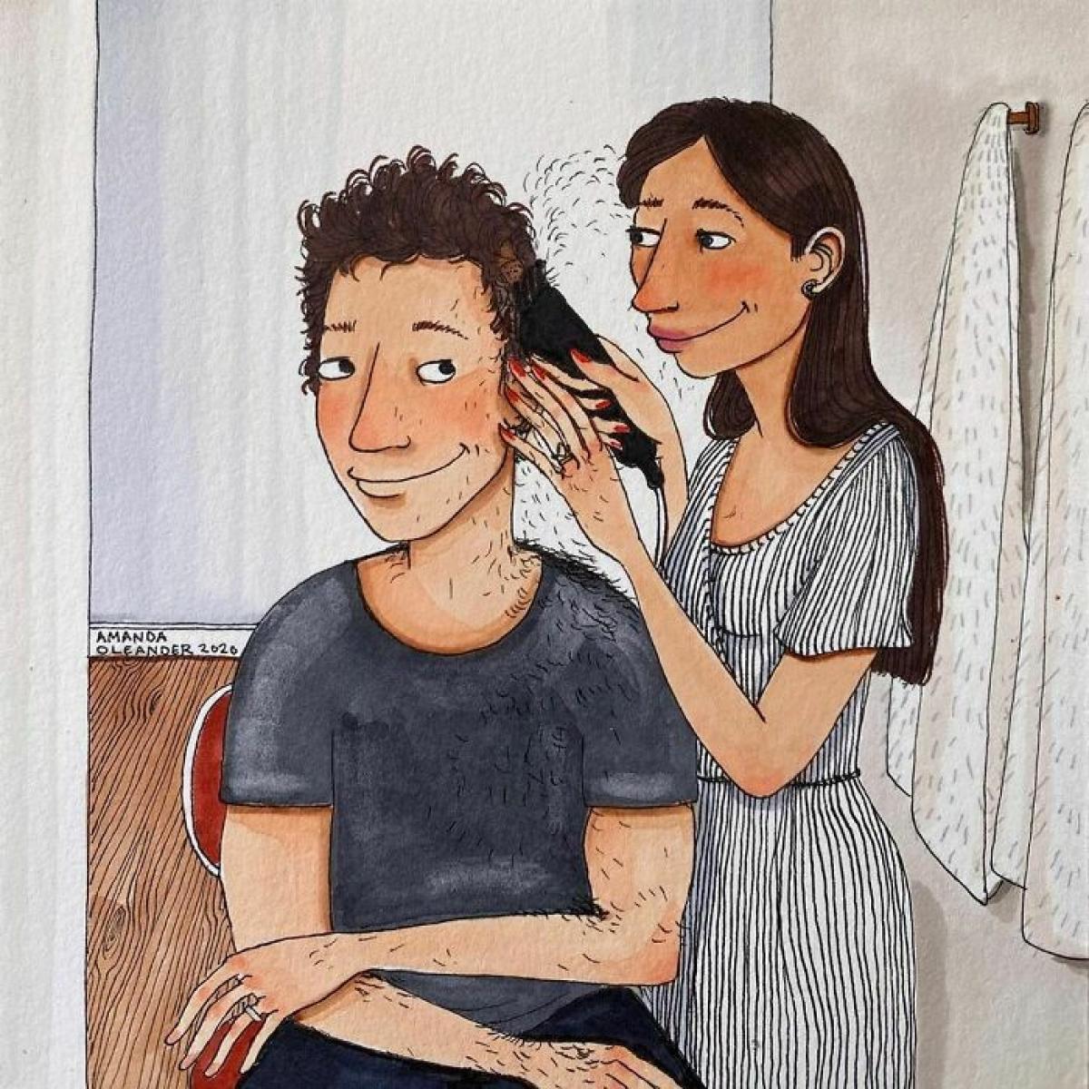 Hớt tóc cho chàng? Tại sao không?./.