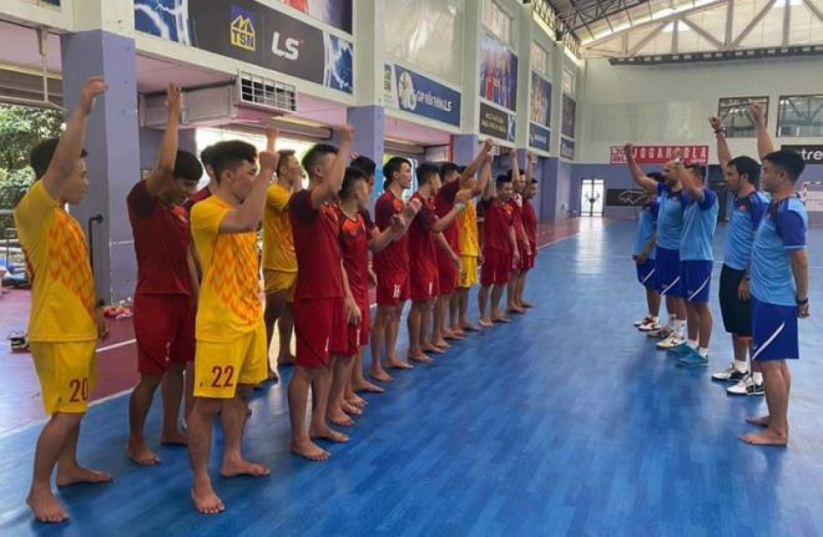Vietnam aim to qualify for a place at the FIFA Futsal World Cup.