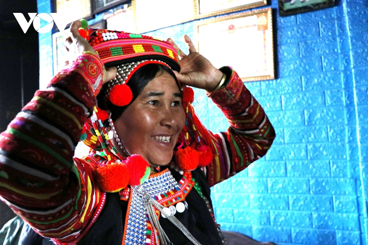 The festival offers a chance for the Ha Nhi to wear new traditional costumes.