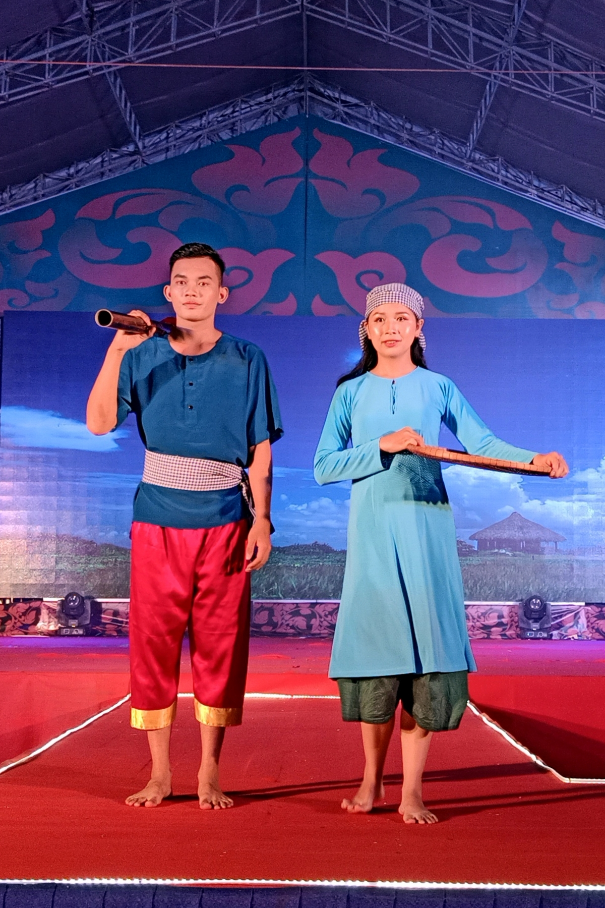 The fashion show offers audiences the chance of viewing a wide range of Khmer outfits, including those worn at work or during celebrations.