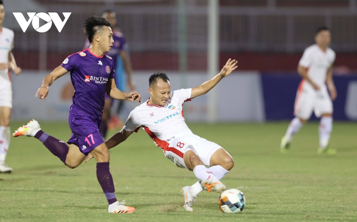 Viettel FC displayed a resolute defence, a feature of their season.