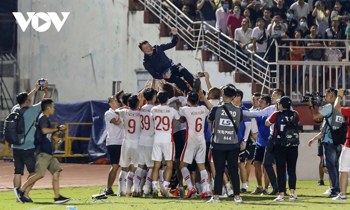Led by head coach Truong Viet Hoang, Viettel FC deserve their victory after winning the second phase of the V.League 1.