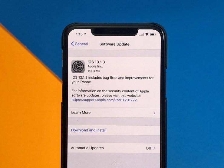 Người dùng iPhone chú ý: Apple lại vừa phát hành iOS 13.1.3! - Ảnh 1.