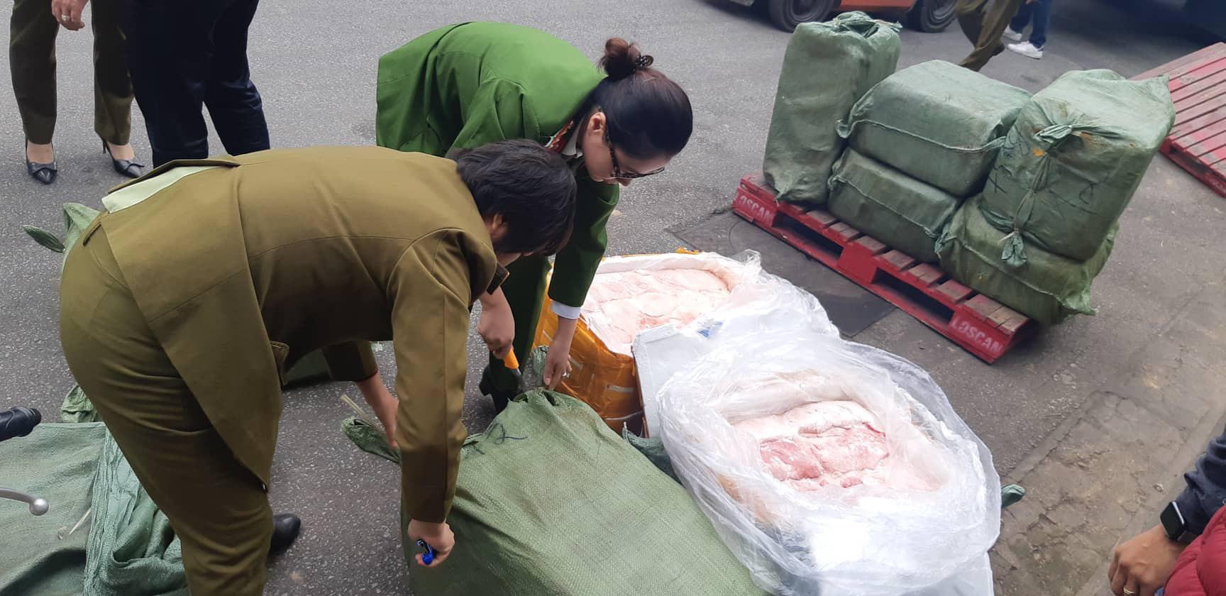 Phát hiện hai container nhập lậu đồ đông lạnh từ Trung Quốc tại siêu thị MM Mega Market - Ảnh 10.