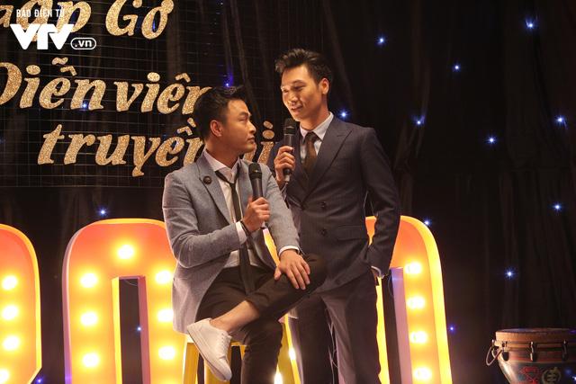 Hồng Đăng - Mạnh Trường và Quốc Đam - Việt Anh tình bể bình trong Gặp gỡ diễn viên truyền hình 2020 - Ảnh 1.
