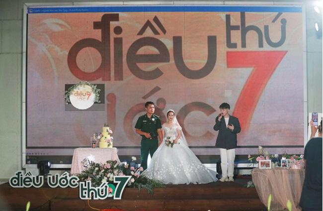 Điều ước thứ 7: Đám cưới đặc biệt của người chiến sĩ giữa mùa dịch COVID-19 - Ảnh 3.