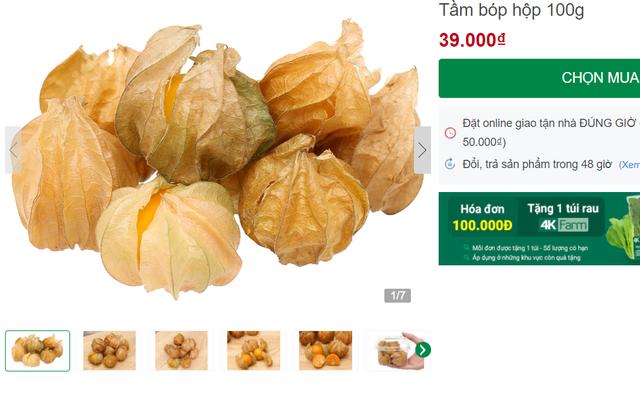 Tầm bóp ở quê chỉ là quả dại, lên kệ siêu thị bán giá 400.000 đồng/kg - Ảnh 1.