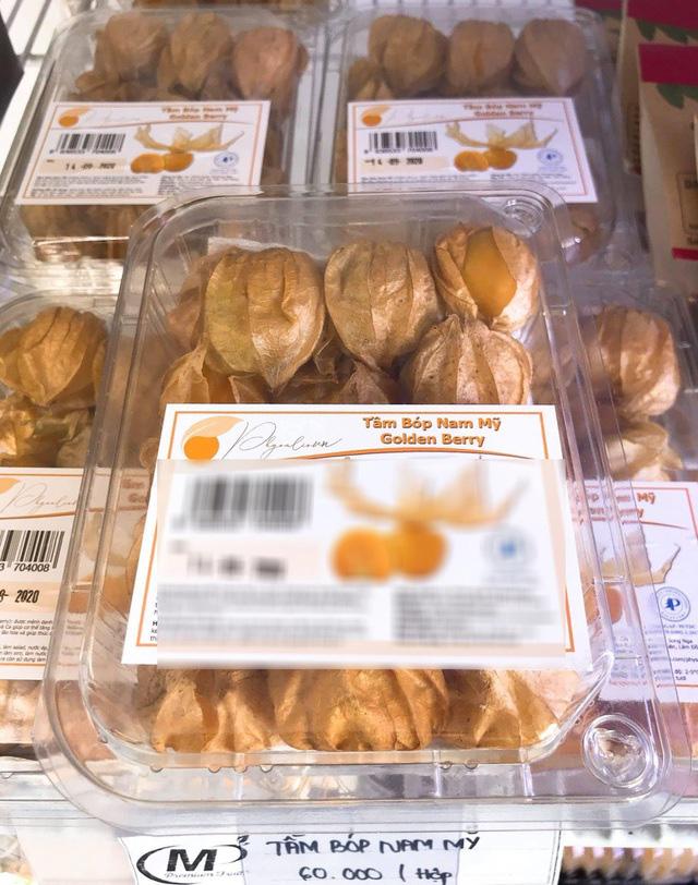Tầm bóp ở quê chỉ là quả dại, lên kệ siêu thị bán giá 400.000 đồng/kg - Ảnh 2.