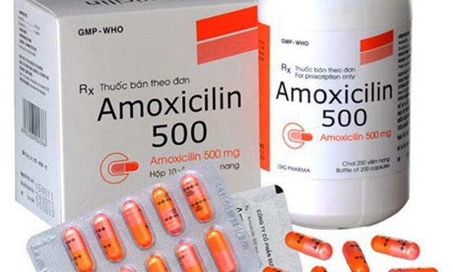 Hà Nội thông báo tạm dừng phân phối và sử dụng thuốc Amoxicillin 500mg