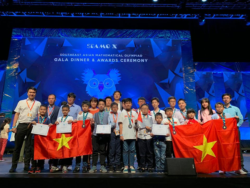 Kết quả vòng thi Quốc tế SEAMO X tại Australia
