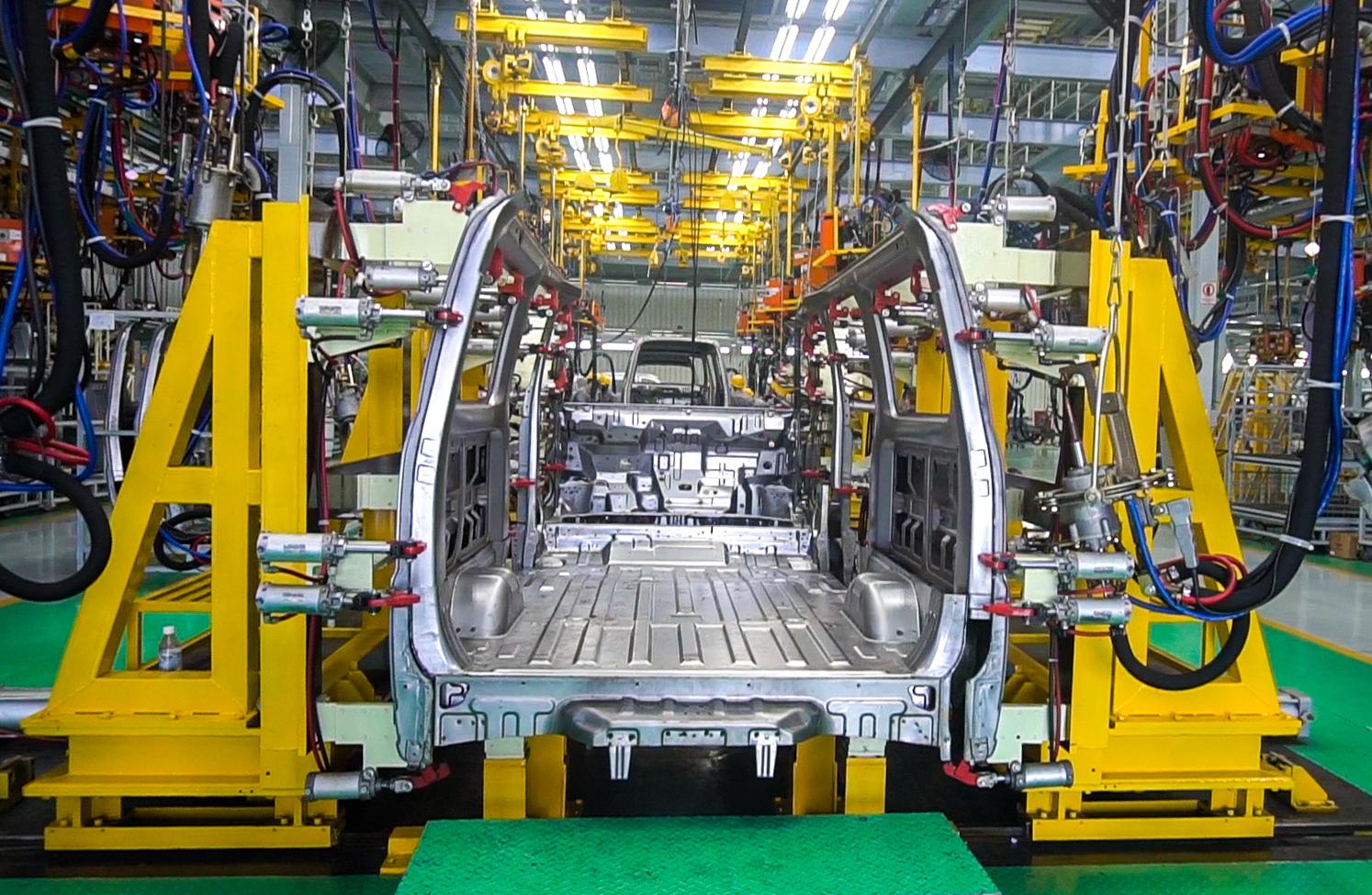 Thiết kế gia công Jig và lắp đặt hệ thống thiết bị dây chuyền hàn bấm body xe tải Towner Van.jpg