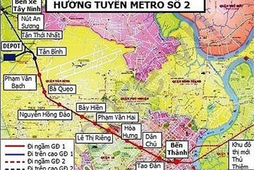 Investment cost and construction time increased for Metro Line No.2