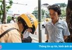 Không mang bảo hiểm xe máy có được đóng phạt tại chỗ?