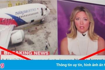 Tin đồn MH370 trở về lan truyền trên mạng xã hội
